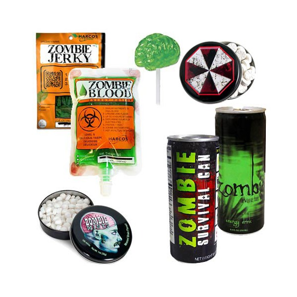 Pack supervivencia zombie