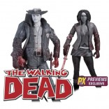 Rick & Michonne Pack 2 Figuras The Walking Dead (Comic Version)