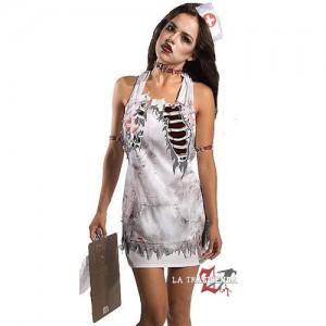 Delantal Enfermera Zombie