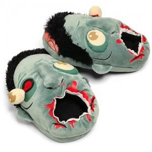 Zapatillas de Peluche Zombies Azul