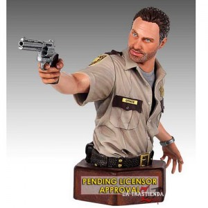 The Walking Dead Busto Sheriff Rick Grimes
