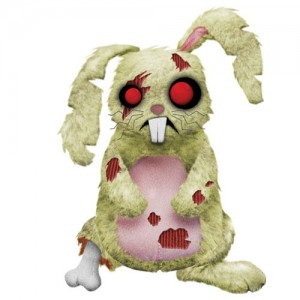Peluche Zombie Lucky Creepy Cuddlers serie 2