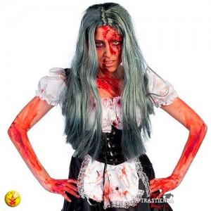 Peluca Zombie Mujer