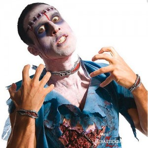 Cremallera Sangrante Zombie