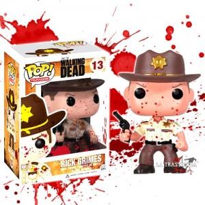 Rick Grimes Cabezón The Walking Dead Serie 1 (Salpicado de Sangre)