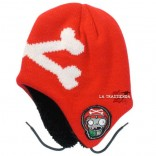Gorro de Esquí Red Crossed Bones Plants vs Zombies