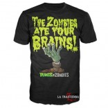 Camiseta Plants vs Zombies Black Brains
