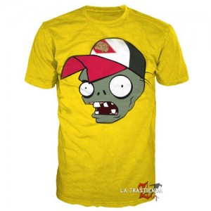 Camiseta Plants vs Zombies Yellow Zombie