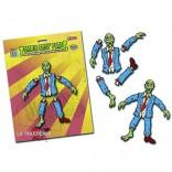 Set de imanes Partes de Zombie