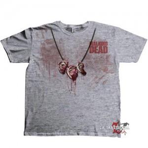 Camiseta Collar de Orejas The Walking Dead