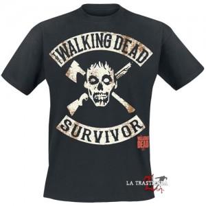 Camiseta Survivor The Walking Dead