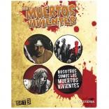 Chapas Los Muertos Vivientes (Set B)