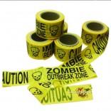 Cinta para acordonar Zombie Outbreak Zone