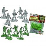 Pack de 35 Minifiguras Zombies At War
