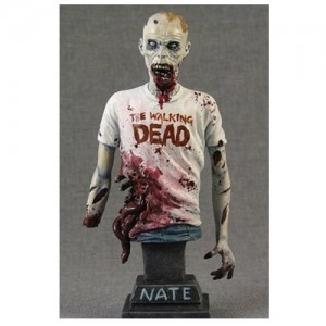 The Walking Dead Busto 1/9 Nate 11 cm