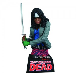 Michonne Hucha The Walking Dead