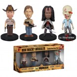 Pack de 4 Mini Cabezones The Walking Dead