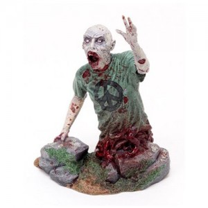 The Walking Dead Estatua Half Zombie
