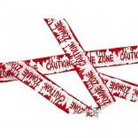 """Cinta para acordonar """"Caution Zombie Zone"""""""