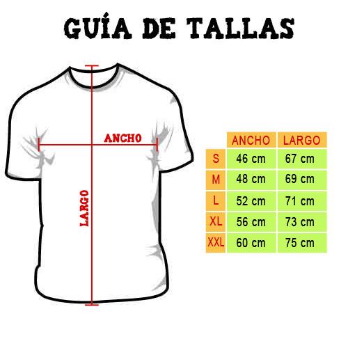 Guia Tallas Camisetas